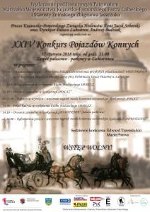 konie 2018 plakat - starosta